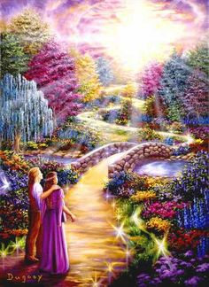 TWIN FLAMES LIKE GARDEN OF EDEN LOTS VIVID COLOURS STANDING NEXT TO EACH OTHER.jpg
